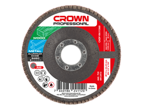 Picture of Aluminium oxide abrasive flap discs BASIC